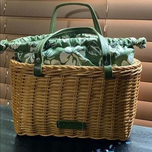 Kenneth Cole wicker purse. Excellent shape